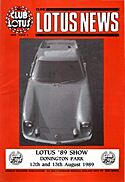 Club Lotus News - Issue 3 1989