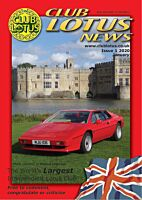 Club Lotus News - Issue 1 2020