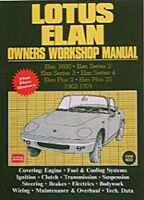 B 1 Lotus Elan and +2 Owners Workshop Manual 1962-1974