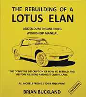 The Rebuilding of a Lotus Elan 2nd Ed.  By Brian Buckland