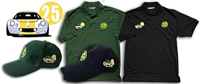 NEW INTO CLUB SHOP - ELISE 25TH ANNIVERSARY POLOS AND CAPS